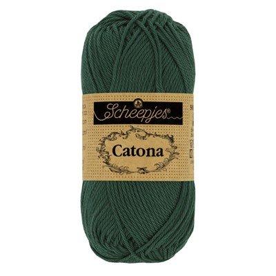 Scheepjes Catona 525 50 gram - donker groen