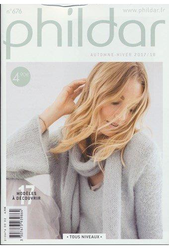 Phildar nr 676 17 modellen dames 2017-2018