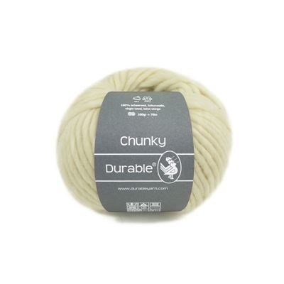 Durable Chunky Wool 0326 ivory