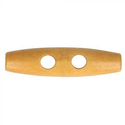 Knoop 30 mm houtje touwtje licht hout