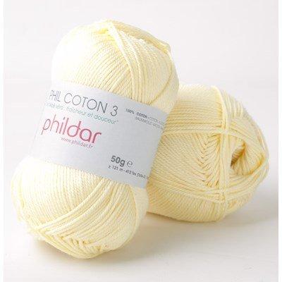 Phildar Phil coton 3 Poussin
