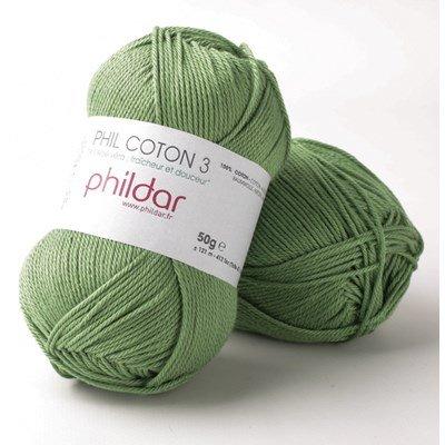 Phildar Phil coton 3 Roseau