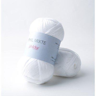 Phildar Phil Mixte Blanc 2225