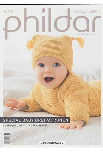 Phildar nr 152 41 modellen 0-12 maanden (op=op)