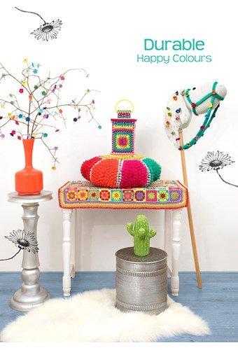 Leaflet Durable Happy colours
