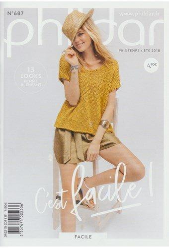 Phildar nr 687 13 modellen voor dames en meisjes