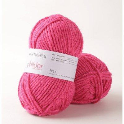 Phildar Partner 6 Pink op=op