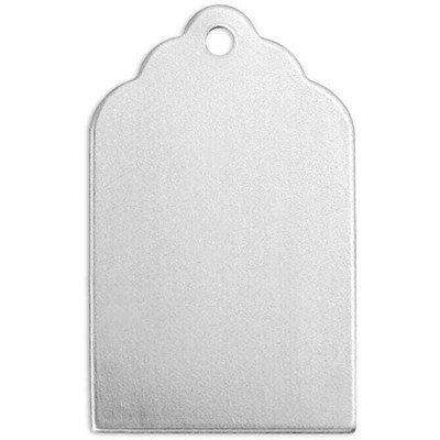 ImpressArt - 20 aluminium labeltjes 20 mm a 10 mm
