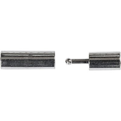 kettingsluiting 20 mm magnetich verzilverd 2 stuks