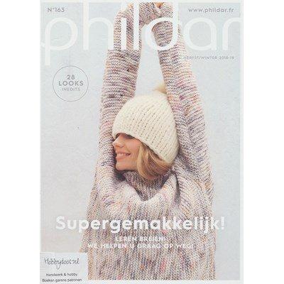 Phildar nr 163 - herfst winter 2018 28 modellen super gemakkelijk