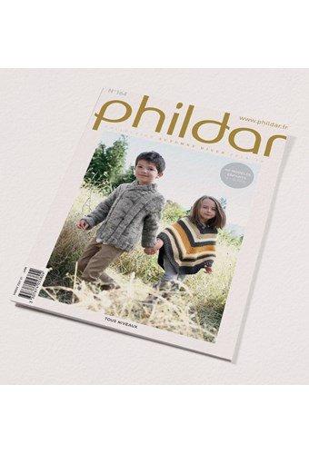Phildar nr 164- herfst winter 2018 40 kindermodellen 4 - 16 jaar (op=op uit collectie)