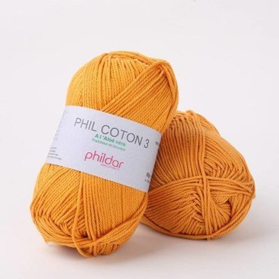Phildar Phil coton 3 Safran