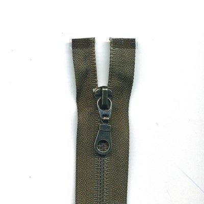 rits deelbaar 60 cm groen