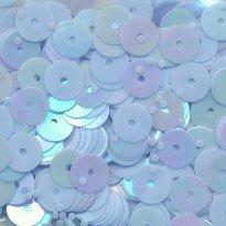 Pailletten 6 mm - Blauw licht 099