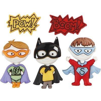 Knoop superhelden 5 stuks