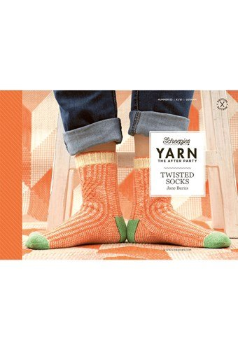 Scheepjes Yarn after party no. 53 twisted socks