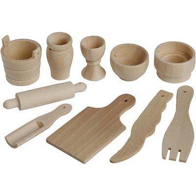 Keukengerei hout assortiment