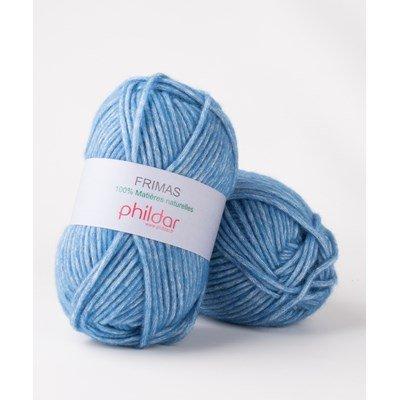 Phildar Frimas Bleuet op=op uit collectie