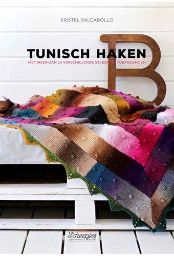 Tunisch haken met meer dan 25 verschillende steken en toepassingen