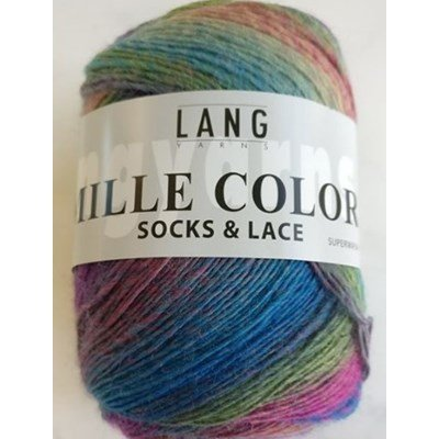 Lang Yarns Mille Colori socks and lace 87.0006 op=op uit collectie