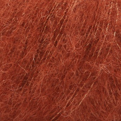 DROPS Brushed Alpaca Silk 24 rust