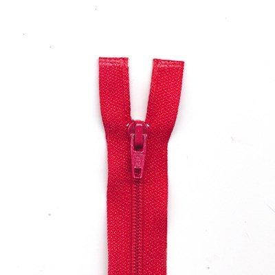 Rits deelbaar 65 cm rood