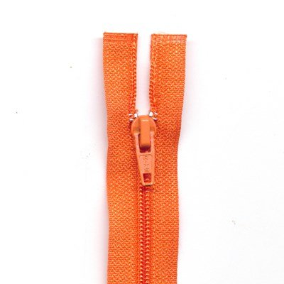 Rits deelbaar 75 cm oranje