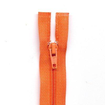 Rits deelbaar 65 cm oranje
