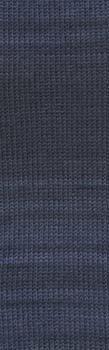 Lang Yarns Super Soxx Cashmere color 904.0012 blauw paars gemeleerd