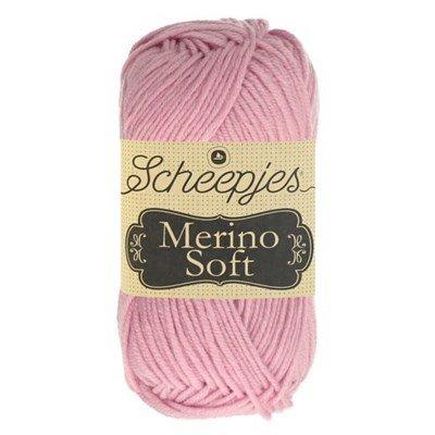 Scheepjes Merino soft 649 Waterhouse - licht roze
