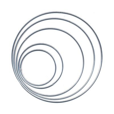 Ring metaal 100 cm - 4,2 mm 5 stuks
