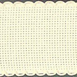 Aida band 5,5 ecru hoogte 5 cm per 10 cm