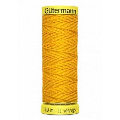 Gutermann elastiek 4009 geel 10 meter