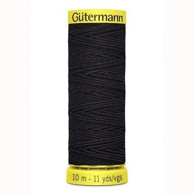 Gutermann elastiek 5262 donker blauw 10 meter