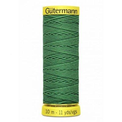 Gutermann elastiek 8644 groen 10 meter