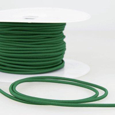 Elastiek koord 3 mm - groen 4,95 meter