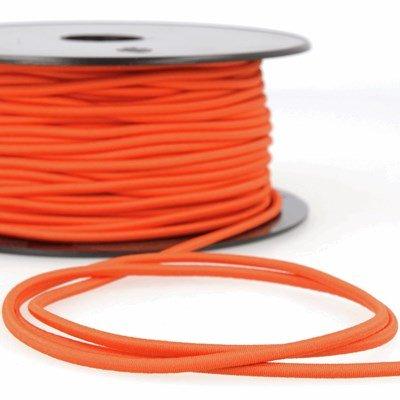 Elastiek koord 3 mm - oranje 4,95 meter