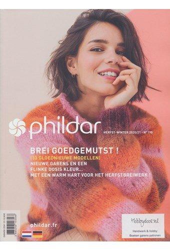 Phildar nr 190 Herfst winter 2020 - 2021
