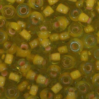 Toho Glaskralen rond 8-0 0302 geel doorzichtig 4 gram