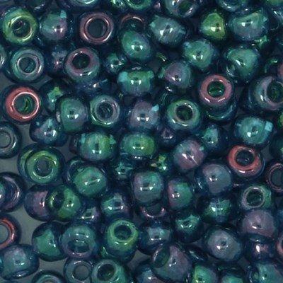 Toho Glaskralen rond 8-0 0321 blauw doorzichtig 4 gram