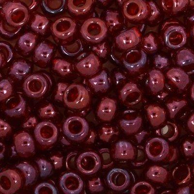 Toho Glaskralen rond 8-0 0332 rood doorzichtig 4 gram