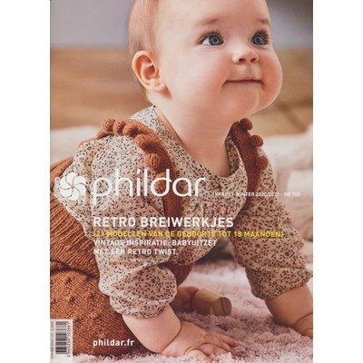 Phildar nr 703 2020-2021 Retro breiwerkjes van 0-18 maanden