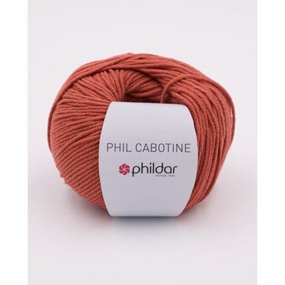 Phildar Cabotine Terracotta