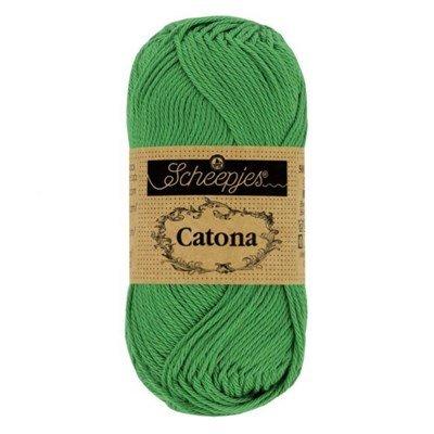 Scheepjes Catona 515 emerald 10 gram