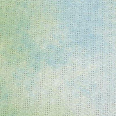 Aida 5,5 geprint 0747 mint blauw 38 a 45,7 cm
