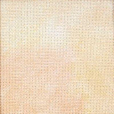 Aida 5,5 geprint 3855 zalm geel 38 a 45,7 cm