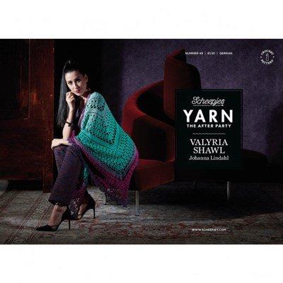 Scheepjes Yarn after party no. 49 Valyria Shawl