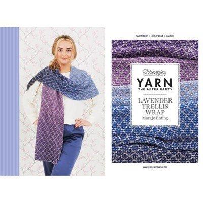 Scheepjes Yarn after party no. 71 Lavender Trellis Wrap