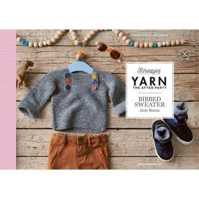 Scheepjes Yarn after party no. 83 Bibbed Sweater