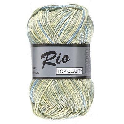 Lammy Yarns Rio multi 626 groen blauw
